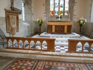 Altar rail complete